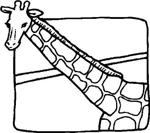 Coloriage et dessins gratuits Girafe et image à imprimer