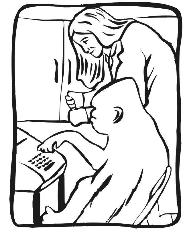 Coloriage et dessins gratuits Gorille intelligent à imprimer