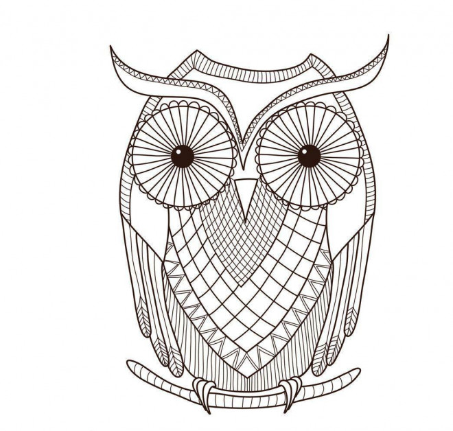 coloriage hibou mandala pour enfant dessin gratuit imprimer. Black Bedroom Furniture Sets. Home Design Ideas