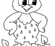 Coloriage et dessins gratuit Petit Hibou à imprimer