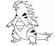 Coloriage et dessins gratuit Iguane dessin animé à imprimer