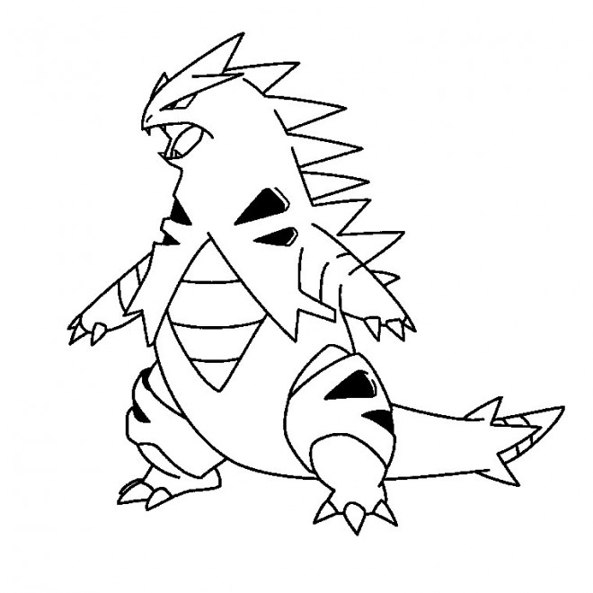 Coloriage et dessins gratuits Iguane dessin animé à imprimer