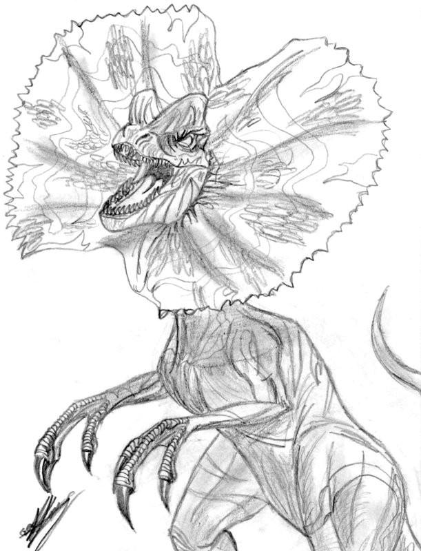 Coloriage dinosaure au crayon pour enfant dessin gratuit imprimer - Coloriage de dinosaure a imprimer gratuit ...