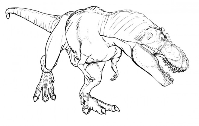 Coloriage Dinosaure Noel.Coloriage Dinosaure Qui Fait Peur Dessin Gratuit A Imprimer
