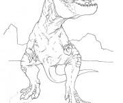 Coloriage et dessins gratuit Indominus Rex à imprimer