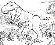 Coloriage dessin  Jurassic Park 13