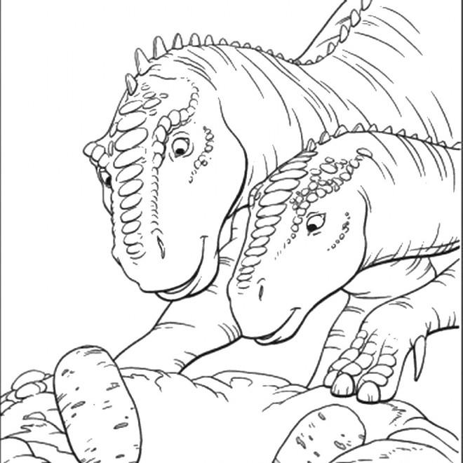Coloriage jurassic park 23 gratuit imprimer en ligne - Jurassic park gratuit ...