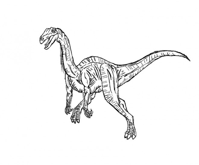 Coloriage et dessins gratuits Jurassic Park en ligne à imprimer