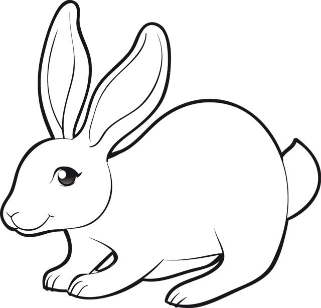 Coloriage lapin d couper dessin gratuit imprimer - Coloriage a decouper ...