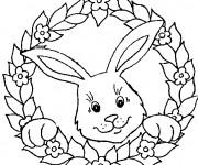 Coloriage et dessins gratuit Lapin à télécharger à imprimer