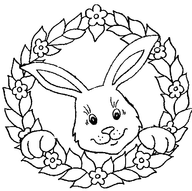 Coloriage lapin t l charger - Dessins gratuits a telecharger ...