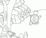 Coloriage dessin  Lievre 10