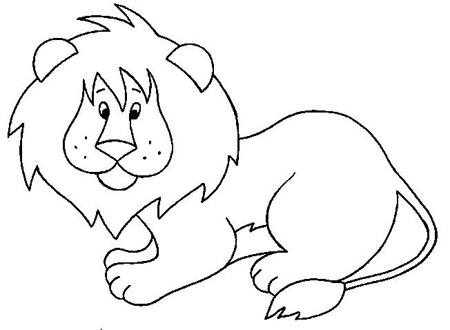 Coloriage et dessins gratuits Lion 11 à imprimer