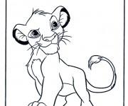 Coloriage et dessins gratuit Lion 14 à imprimer