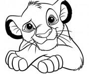 Coloriage et dessins gratuit Lion 17 à imprimer