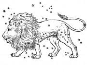 Coloriage Lion 41