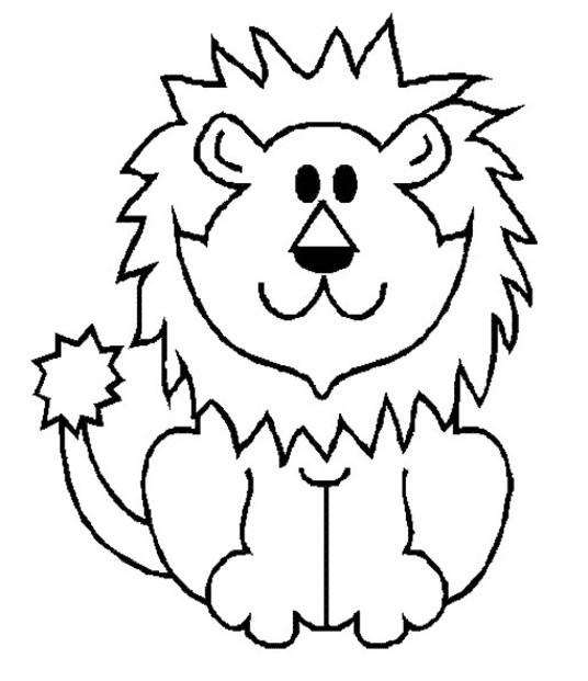 Coloriage Lion 5 Dessin Gratuit A Imprimer
