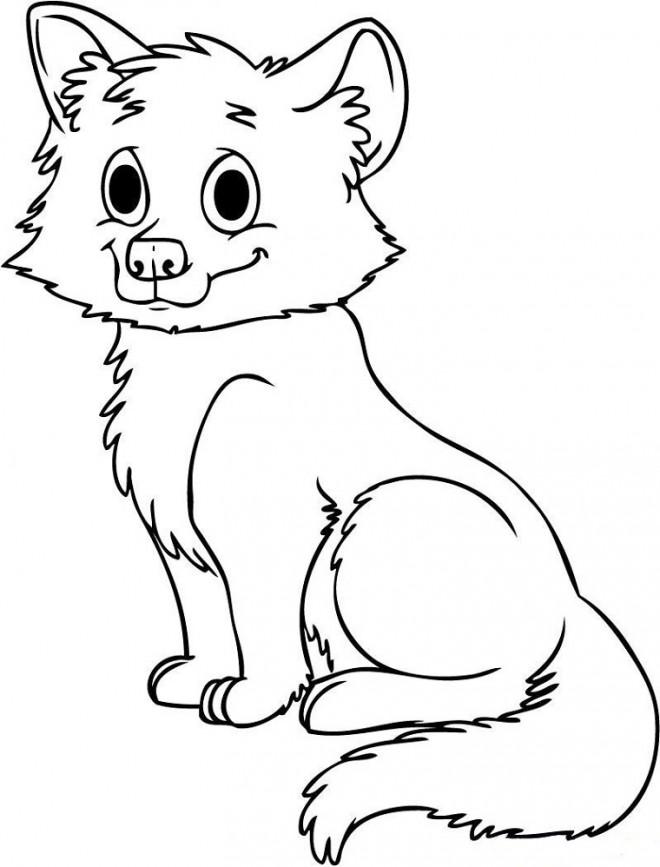 Coloriage et dessins gratuits Loup 12 à imprimer