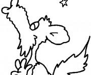 Coloriage et dessins gratuit Loup 14 à imprimer