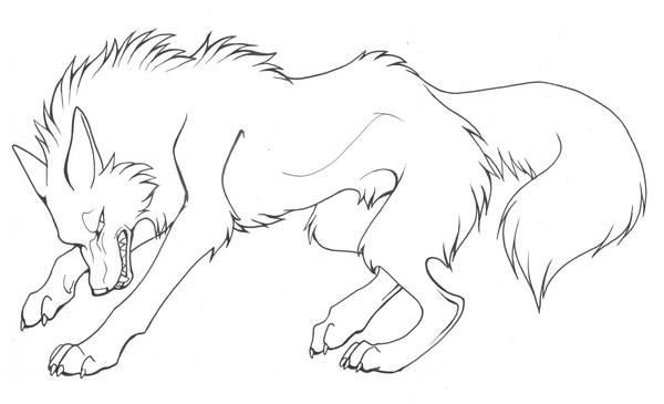 Coloriage et dessins gratuits Loup 19 à imprimer