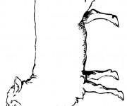 Coloriage dessin  Mouton 9