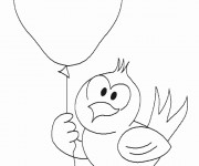 Coloriage dessin  Oiseau 8
