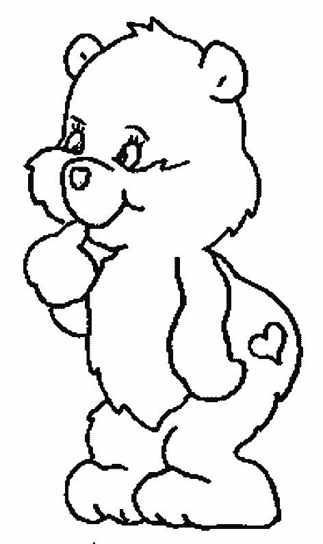Coloriage et dessins gratuits Petit Ours pour enfant à imprimer
