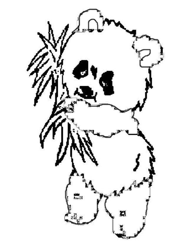 Coloriage panda t l charger - Coloriage petit panda ...