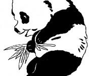 Coloriage et dessins gratuit Panda mignon à imprimer