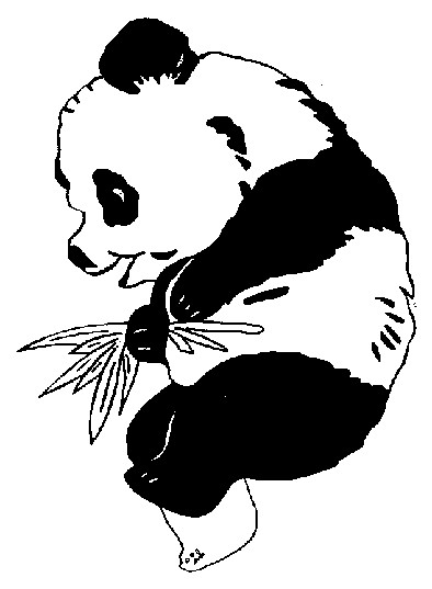 Coloriage et dessins gratuits Panda mignon à imprimer