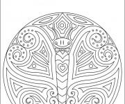 Coloriage dessin  Papillon 5