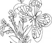 Coloriage dessin  Papillon 6