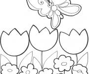 Coloriage dessin  Papillon 9