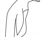 Coloriage dessin  Pingouin 10