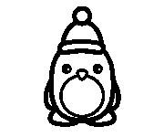 Coloriage dessin  Pingouin 14