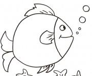 Coloriage dessin  Poisson 20