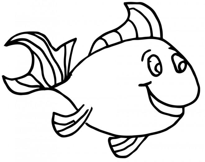 Coloriage poisson d couper dessin gratuit imprimer - Poisson a decouper ...