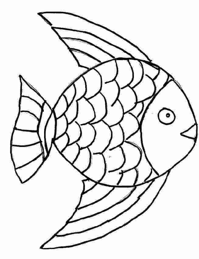 Coloriage et dessins gratuits Poisson au crayon à imprimer