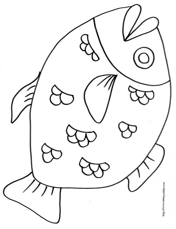Coloriage un gros poisson dessin gratuit imprimer - Dessin de poisson a imprimer gratuit ...