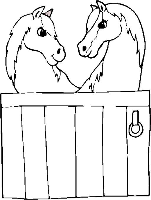 Coloriage et dessins gratuits Poney club à imprimer