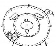 Coloriage et dessins gratuit Porc domestique à imprimer