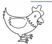 Coloriage et dessins gratuit Petit Poulet à imprimer