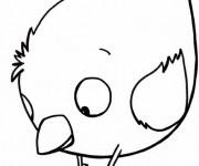 Coloriage Poussin mignon