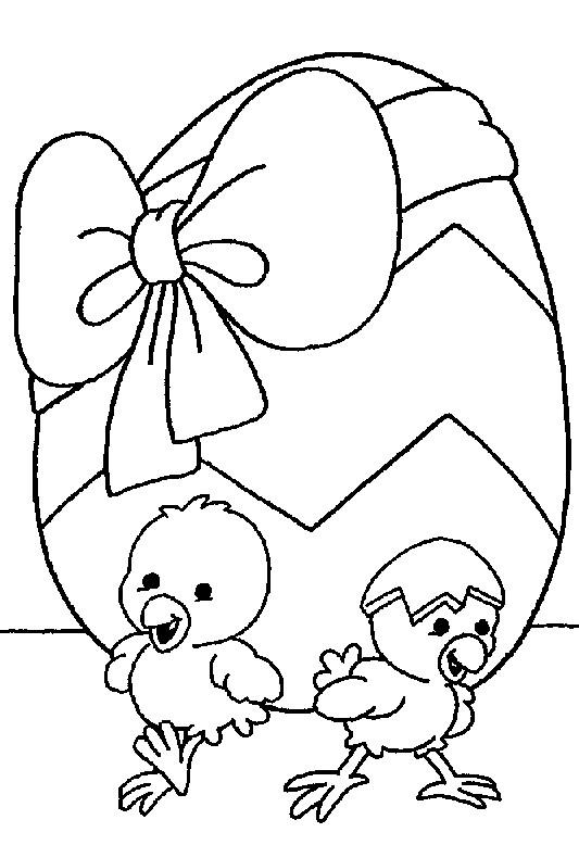 Coloriage poussins et cadeau d 39 anniversaire dessin gratuit imprimer - Dessin de poussin ...