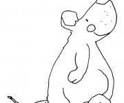 Coloriage dessin  Rat 10