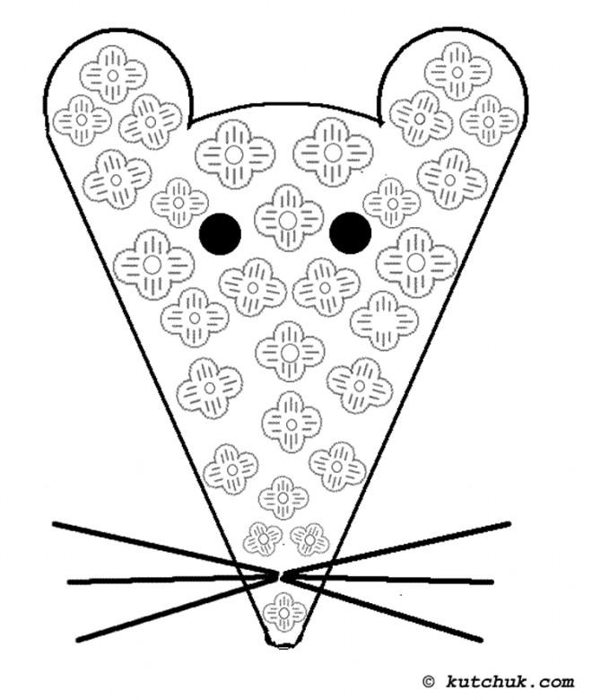 Coloriage et dessins gratuits Rat mandala à imprimer