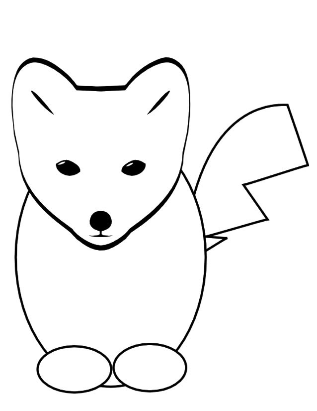 Coloriage renard dessin anim dessin gratuit imprimer - Renard en dessin ...