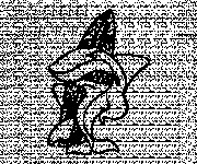 Coloriage Requin s'amuse