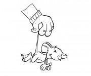 Coloriage et dessins gratuit Souris humoristique à imprimer