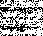 Coloriage Beau dessin d'un Taureau